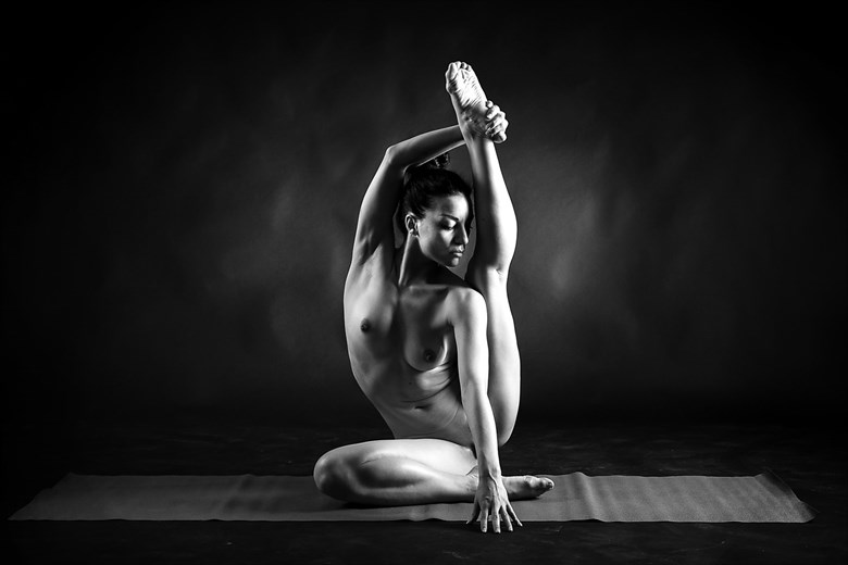 Naked Yoga Artistic Nude Photo by Photographer Giube