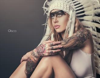 Native Tattoos Photo by Photographer Cisco