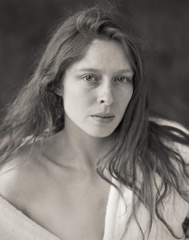 Natural Light Expressive Portrait Photo by Model Bianca Black
