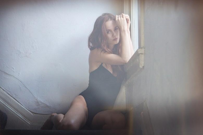 Natural Light Expressive Portrait Photo by Photographer c boudoir