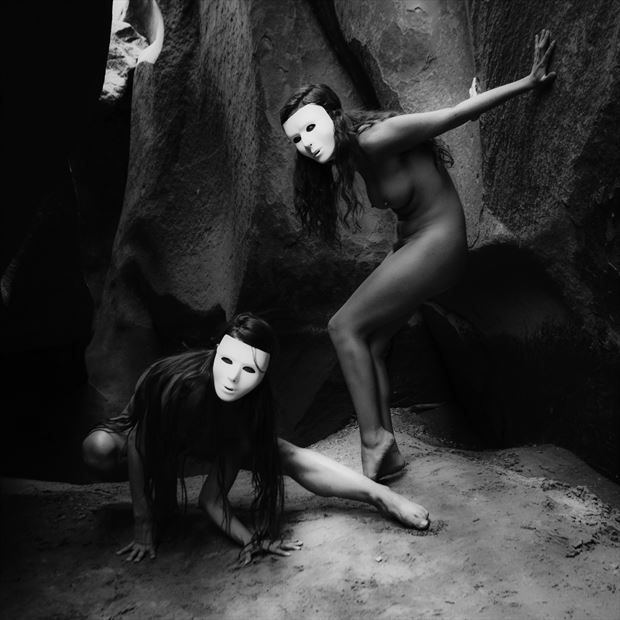 Natural Theatre Artistic Nude Photo by Photographer MickeySchwartz