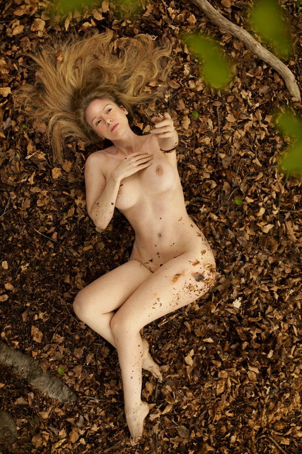 Nature's first green... Artistic Nude Photo by Model Muse