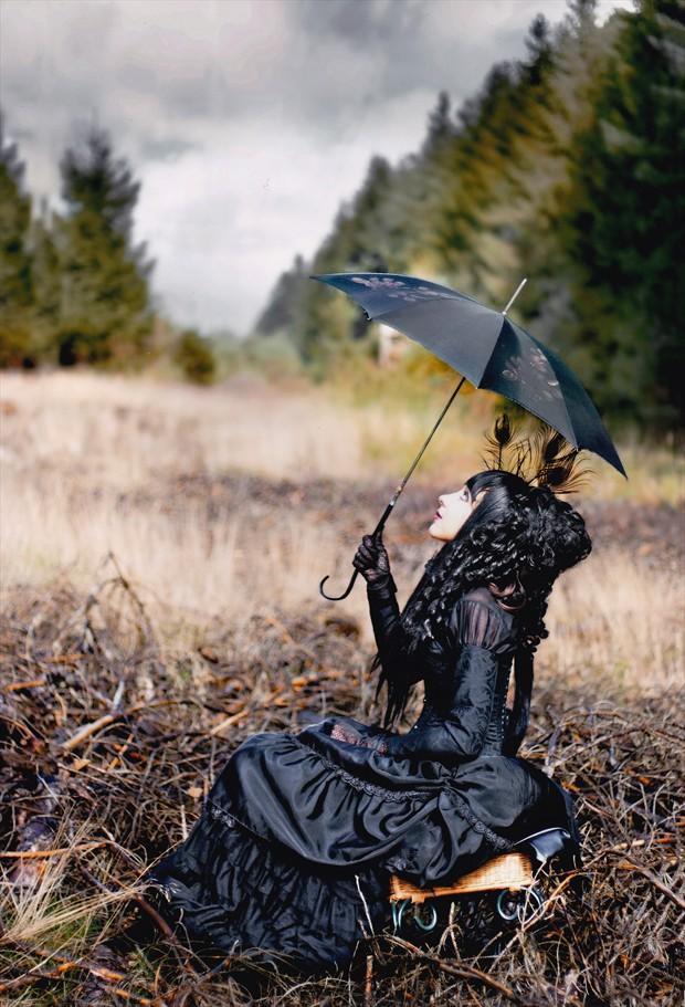 Nature Alternative Model Artwork by Photographer Kristina Kr%C3%B6te