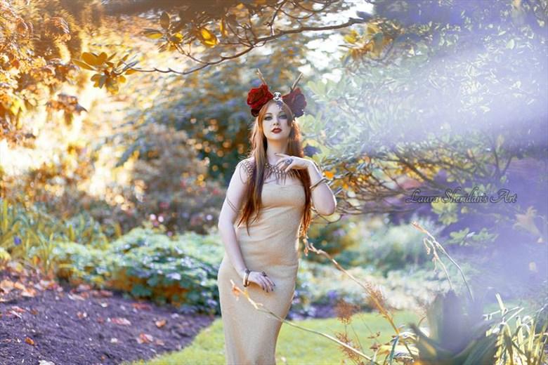 Nature Alternative Model Photo by Model Amber Skyline