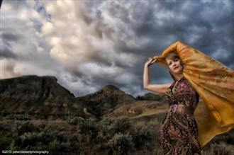 Nature Artwork by Model Ali Hanney