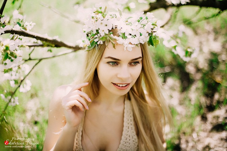 Nature Artwork by Model Julia