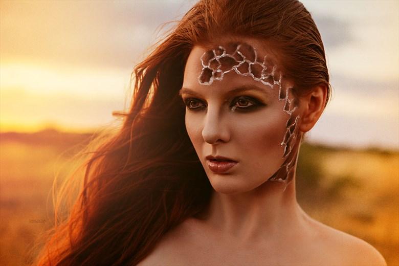 Nature Body Painting Photo by Model Shaun Tia