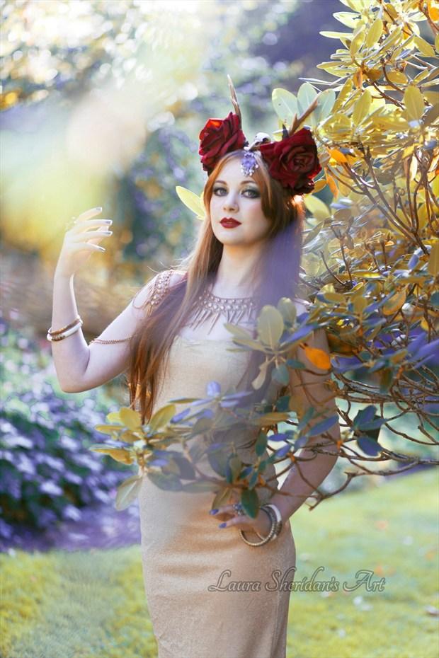 Nature Fantasy Photo by Model Amber Skyline