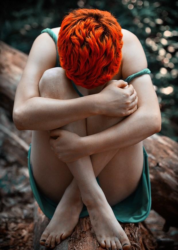 Nature Fantasy Photo by Model Dahliaa Black