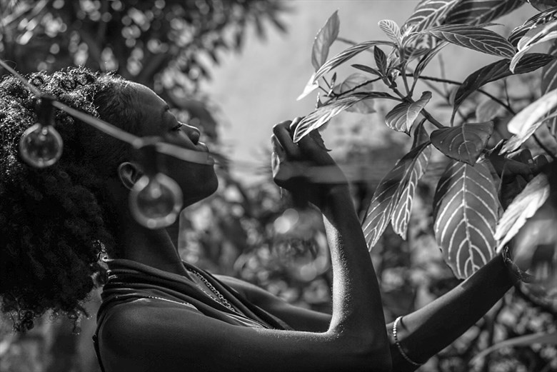 Nature Fantasy Photo by Model Haitianbratt