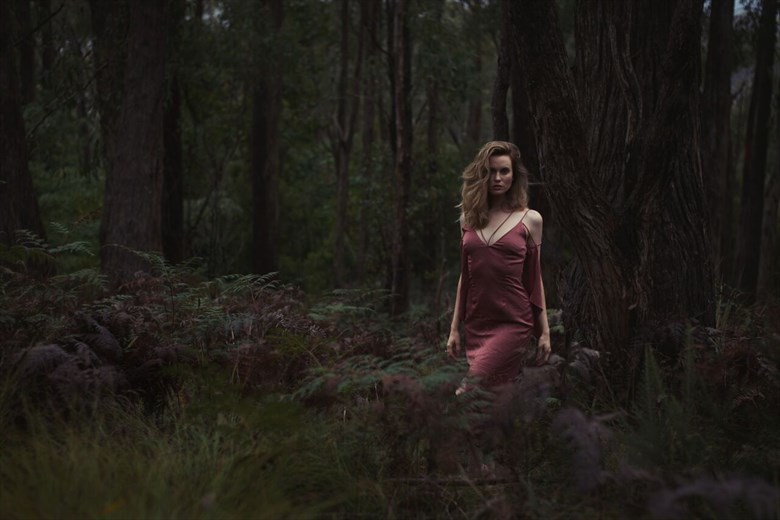 Nature Fashion Photo by Model Amy Heather