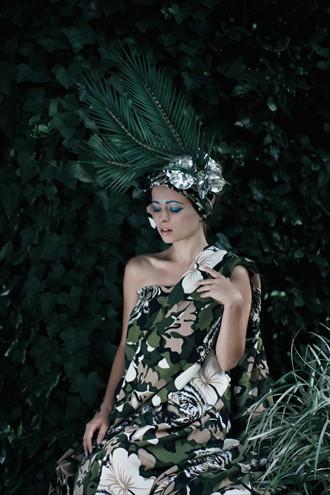 Nature Fashion Photo by Model Jessica de Virgilis