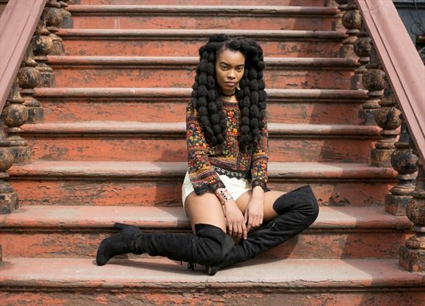 Nature Fashion Photo by Model Tea