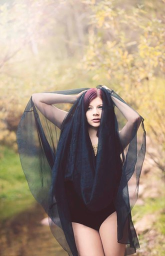 Nature Glamour Photo by Model Miss Robot