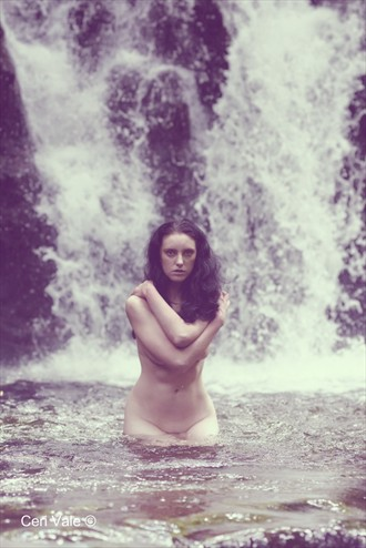 Nature Implied Nude Photo by Model Becca