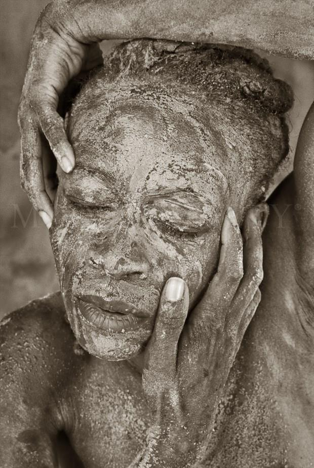 Nature Implied Nude Photo by Model Gazelle