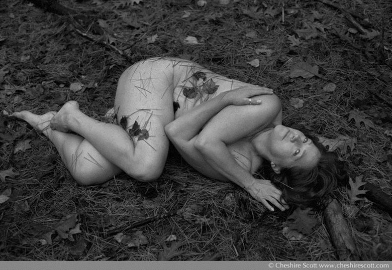 Nature Implied Nude Photo by Model Inner Essence