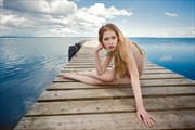 Nature Implied Nude Photo by Model Kseniia