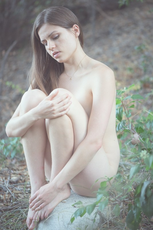Nature Implied Nude Photo by Model Z