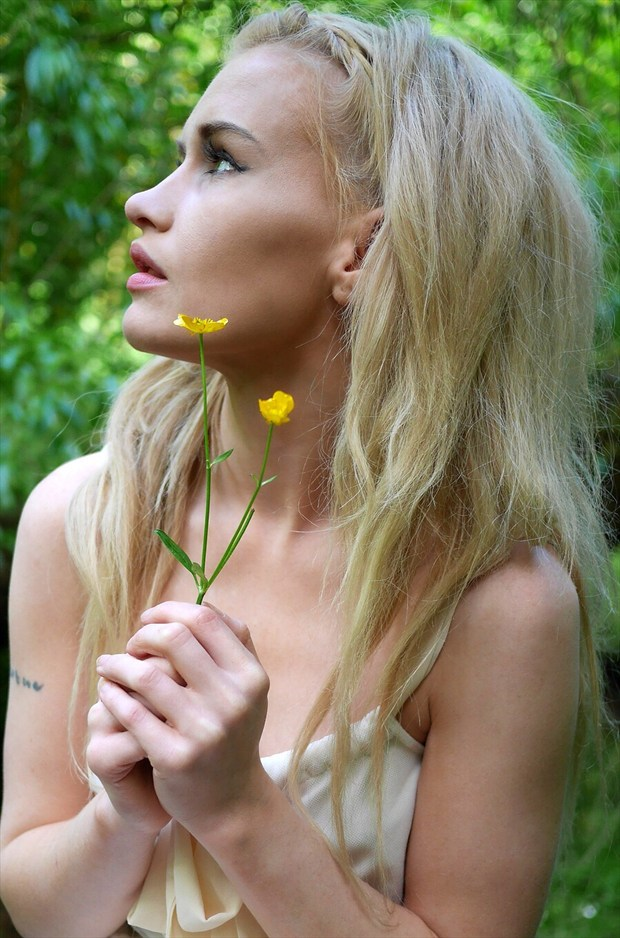 Nature Portrait Photo by Model Amy Coco