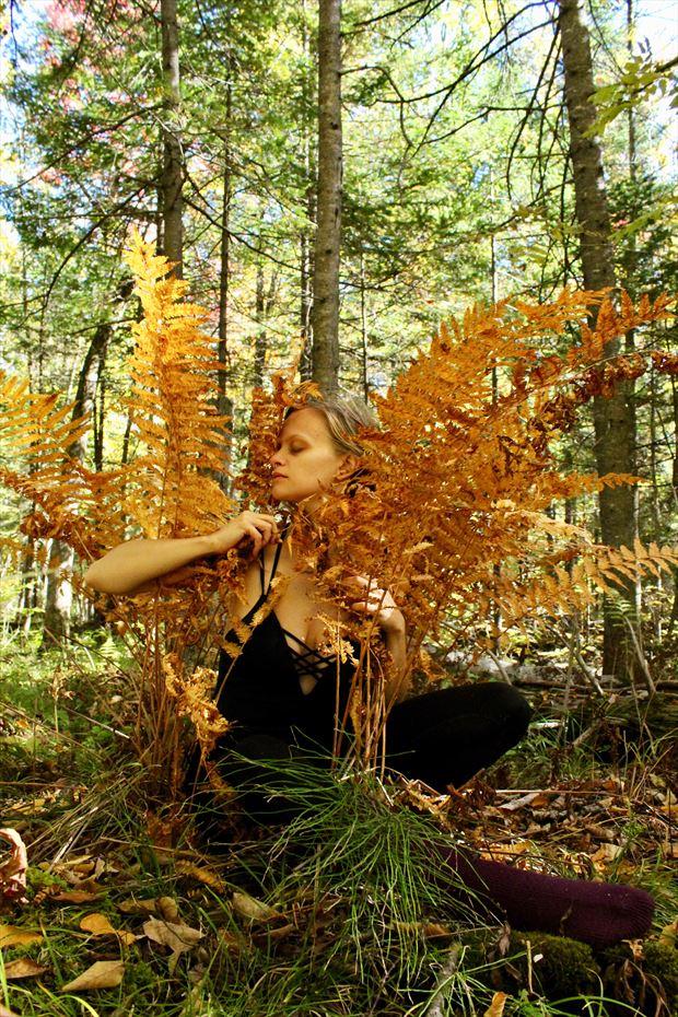 Nature Portrait Photo by Model Ursa Minor