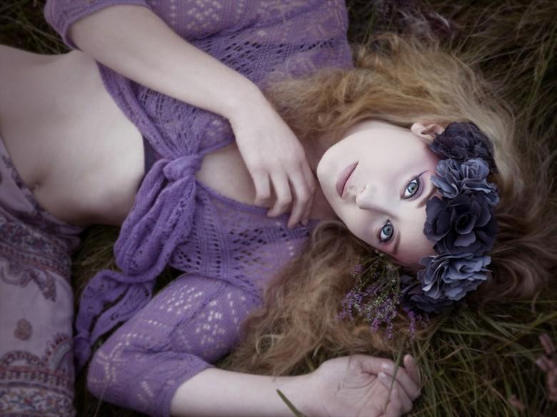 Nature Sensual Photo by Model Ella Rose Muse