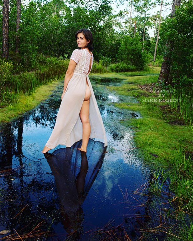 Nature Sensual Photo by Model Helen Troy