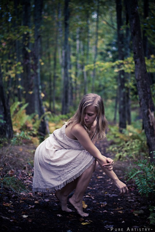 Nature Sensual Photo by Model Ursa Minor