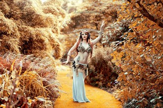 Nature Surreal Photo by Model Amber Skyline