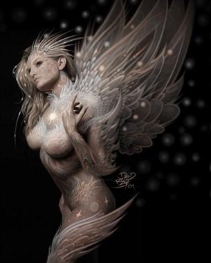 Nebula Cosplay Artwork by Artist David Bollt