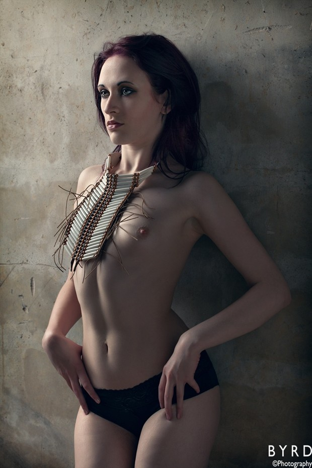 Necklace Artistic Nude Photo by Model D%C3%A9irdre J