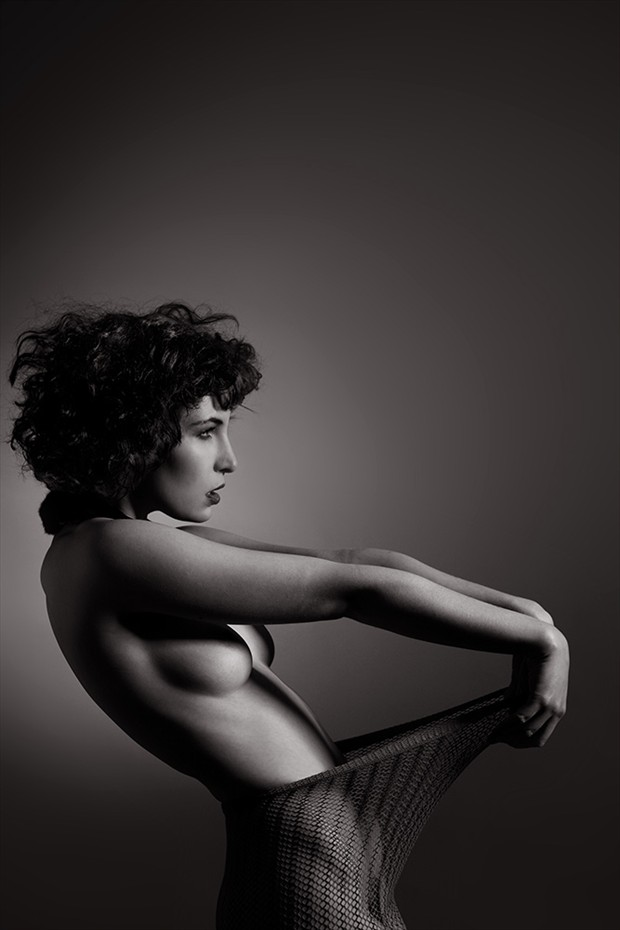 Negative Space Artistic Nude Photo by Photographer Mick Waghorne