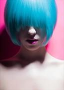 Neon Surreal Photo by Model Ambioszka