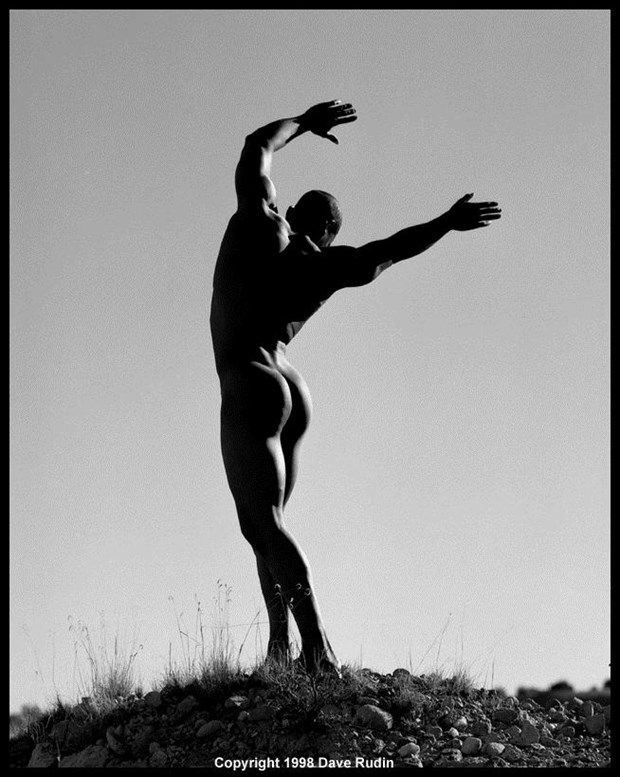 New Mexico Nude, 1997 Artistic Nude Photo by Photographer Dave Rudin