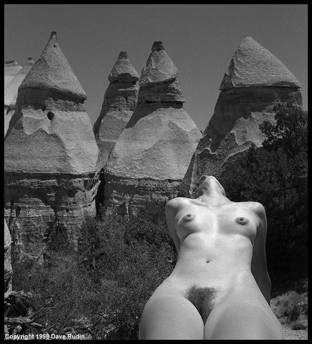 New Mexico Nude, 1998 Artistic Nude Photo by Photographer Dave Rudin