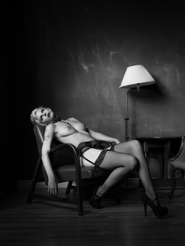 Newtonesque %232 Artistic Nude Photo by Photographer Bruce M Walker