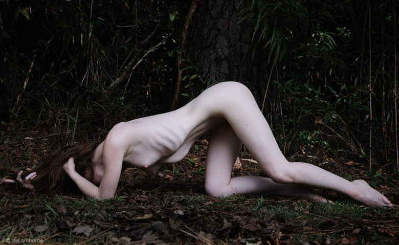 Next to a Forest Artistic Nude Photo by Model Liv Sage