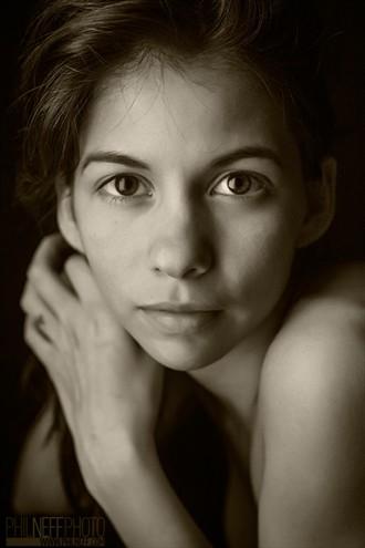 Nia Expressive Portrait Photo by Model S nia