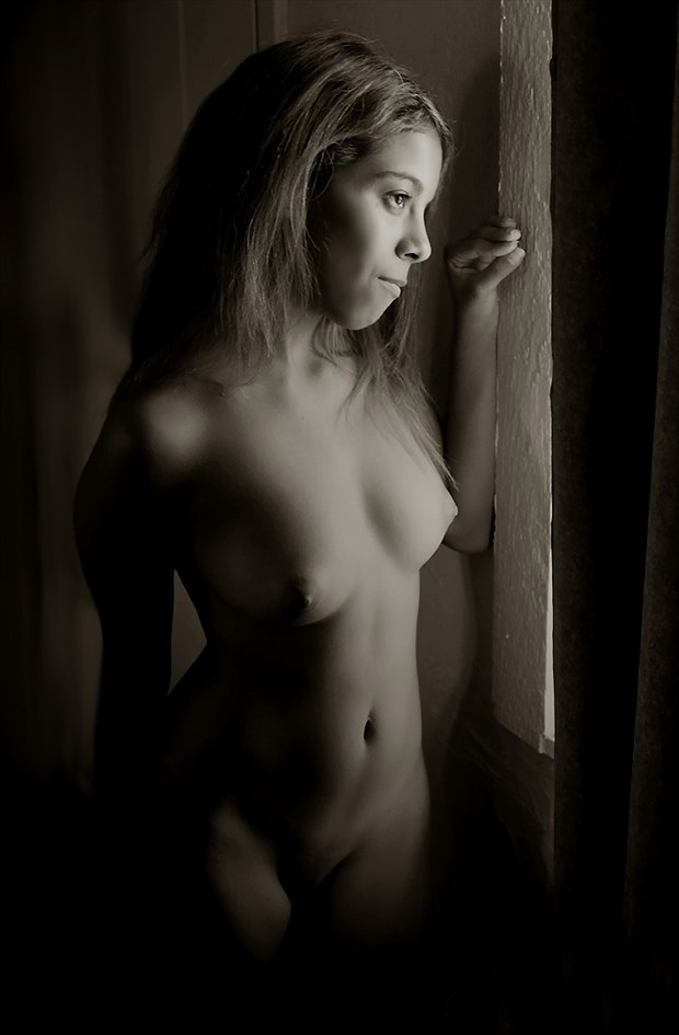 Nichole Rabbitt Artistic Nude Artwork by Photographer Rick Gordon