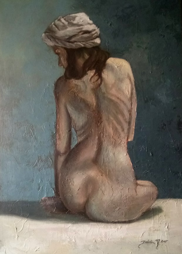 Nina Artistic Nude Artwork by Artist Daniel