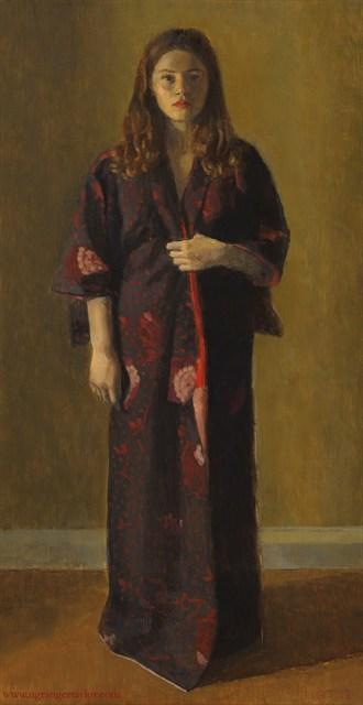 Nina Painting or Drawing Artwork by Artist Nicolas Granger Taylor