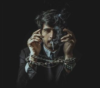 No Smoking Abstract Artwork by Photographer qaiser taqi