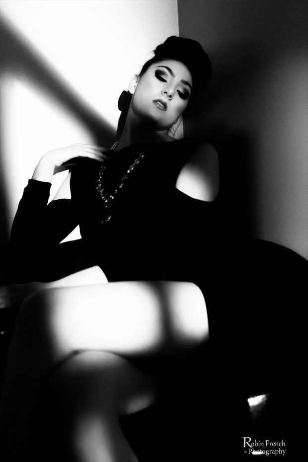 Noir shadows Sensual Photo by Photographer Robin French