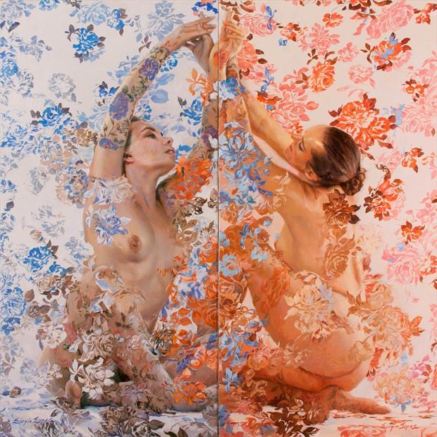 North South East West Artistic Nude Artwork by Artist Main Loop