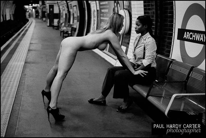 Northern Line Nude Artistic Nude Photo by Photographer PHC