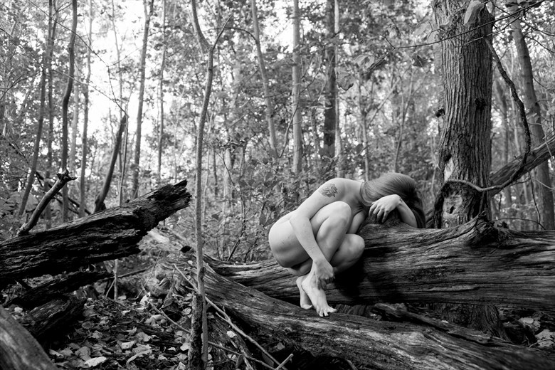 Nowhere at all Artistic Nude Photo by Model Mora Ashby