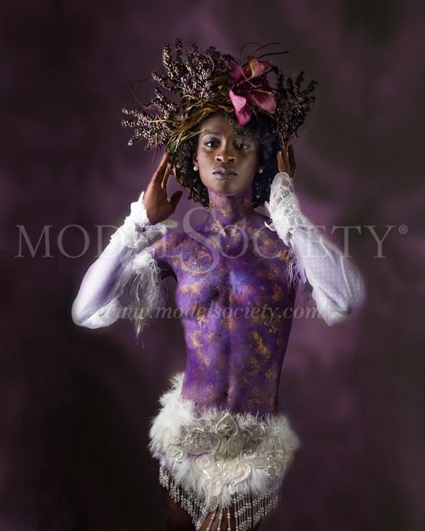 Nubian Queen Artistic Nude Photo by Photographer Troy