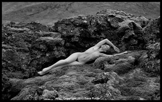 Nude, Iceland, 2013 Artistic Nude Photo by Photographer Dave Rudin
