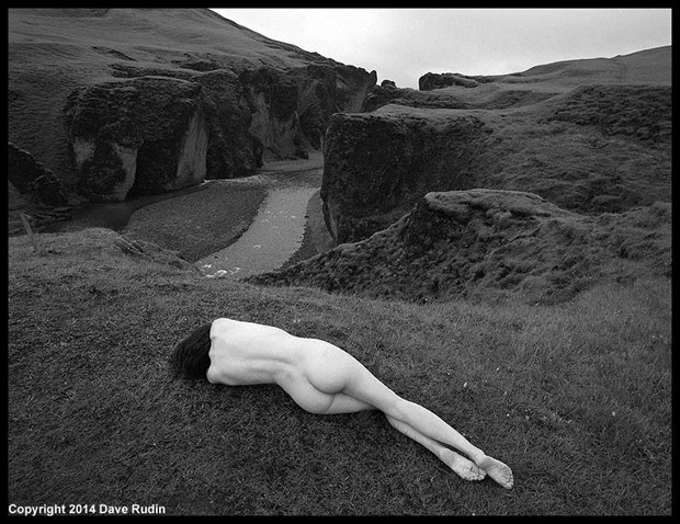 Nude, Iceland, 2014 Artistic Nude Photo by Photographer Dave Rudin