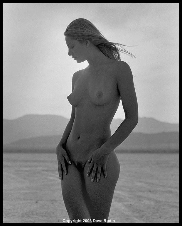 Nude, Nevada, 2003 Artistic Nude Photo by Photographer Dave Rudin